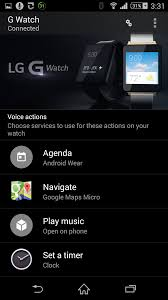 android voice add voice actions on android wear apps smartwatches