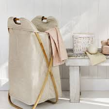 bamboo laundry hamper simons maisonssimons decor inspiration