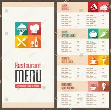 blank menu templates free graphics for blank menu graphics www graphicsbuzz