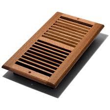 floor and decor ta decor grates 6 in x 12 in finish solid oak wall register