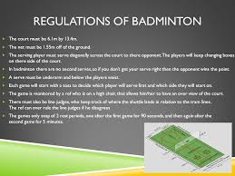 Rules For Table Tennis by Rules And Regulations Of Table Tennis And Badminton Ppt Video