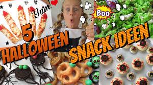 halloween party finger food