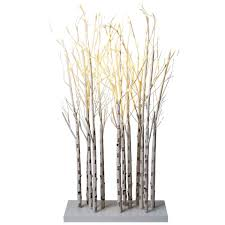 lighted birch tree birch tree branches lighted decor 47 decorative accessories