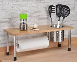 standregal küche küchenregal bambus gewürzregal küchenablage gewürzständer