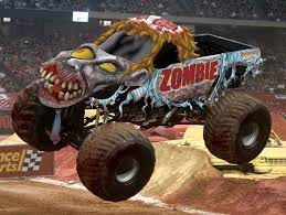 blue thunder monster truck videos image monster truck zombie video 9 jpg monster trucks wiki