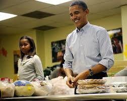 washington dc thanksgiving president obama and family celebrate thanksgiving through the