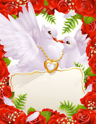 wedding greeting cards greeting card with doves royalty free cliparts vectors and stock