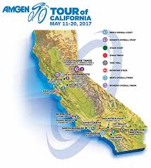 santa california map route elevation maps amgen tour of california santa clarita