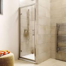 760mm hinged shower enclosure u0026 760mm x 760mm tray