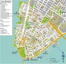 manhattan on map map of manhattan streets interstate guide interstate 495 new