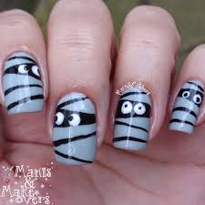 manis u0026 makeovers funny little mummies simple halloween design