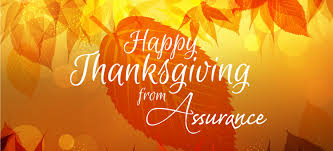 happy thanksgiving assurance for