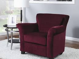 Burgundy Accent Chairs Living Room Burgundy Accent Chair Corner Accent Chair Home Design