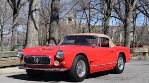 maserati red convertible 1962 maserati 3500 gt for sale near queens new york 11103