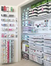 gift wrap storage ideas craft closet storage ideas best 25 craft closet organization