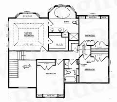 custom floor plan beautiful 3 bedroom house plans with large kitchen house plan