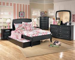 Black Bedroom Furniture Decorating Ideas Bedroom Comfortable Pop Up Trundle Bed For Inspiring Bed Design