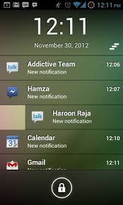 android lock screen notifications iphone lockscreen notification for android smartphone
