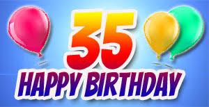 geburtstagsspr che 35 grüße und glückwünsche zum 35 geburtstag