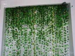 green wall decor high simulation ivy climbing vines green leaf artificial silk