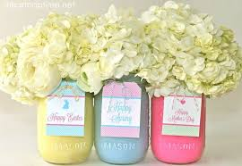 Easter Apothecary Jar Decorations by Easter Mason Jar Ideas A Night Owl Blog