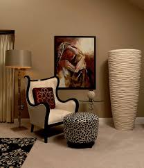 Leopard Armchair Best Greige Paint Bedroom Transitional With Armchairs And Accent