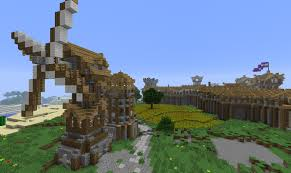 medieval city ideas creative mode minecraft java edition