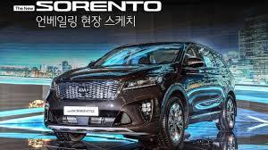lexus rx 2018 facelift 2018 kia sorento facelift kr spec motor1 com photos