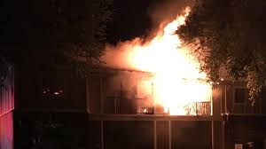 The Patio Flame Crews Battling Massive Fire At Local Apartment Complex Story