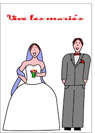 dessin mariage carte de mariage envoyer cette carte vive les mariés dessin d