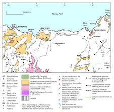 geomorphological features of glacial or glaciofluvial deposition