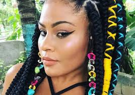 latest hair braids in kenya learn how to colorfully add spice to your braids with this easy