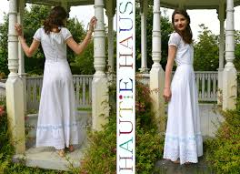 vintage 1960s white cotton swiss embroidered eyelet maxi dress