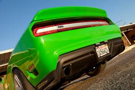mean green challenger based sms 570 steve saleen branches out