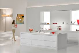 kitchen island worktops uk caesarstone island with built up edge and end panels white on