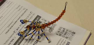 home decoration craft how to make a bead scorpion ornament