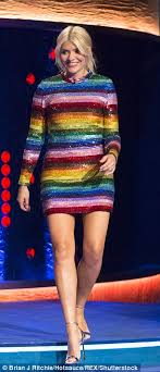 willoughby dresses willoughby s wears rainbow dress for show daily