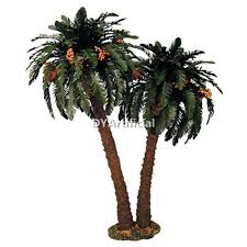 artificial mini palm trees model for architectural scale model