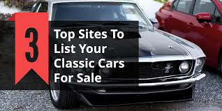 Hemmings Classic Car - top 3 places to sell your classic car to international buyers