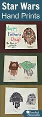 star wars hand prints for father u0027s day star craft and printing