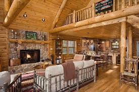 log home interior design logs log homes and cabin interiors on log
