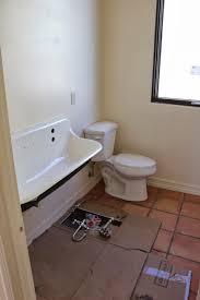 dusty coyote tile and bathroom progress