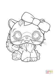 littlest pet shop hasbro coloring free printable coloring pages