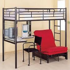 black metal twin loft bed with desk black twin over futon metal bunk bed loft bed with desk chair