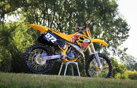 retro motocross gear matt wellers1994 suzuki rm125 project bike primal x motorsports