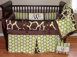 Giraffe Bed Set Baby Nursery Charming Unisex Baby Nursery Room Decoration With