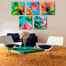 free shipping art print oil painting gorgeous flowers series