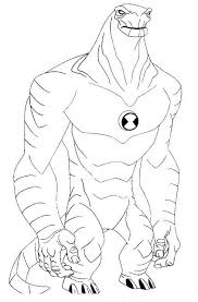 ben 10 alien force coloring pages learn coloring