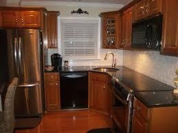 Kitchen Backsplash Ideas With Black Granite Countertops Eye Catching Kitchen Best 25 Backsplash Black Granite Ideas On