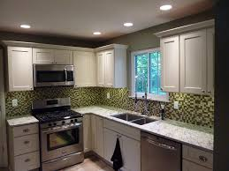 shaker painted cabinets midwest kitchen design images